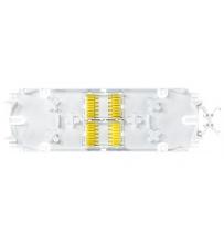Bandeja de empalme blanca - 24 empalmes