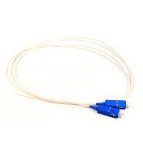 Pigtail SC/UPC SM 0.9mm 1m G652D (flexible)