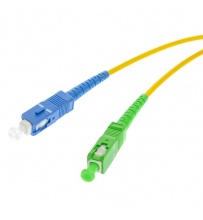 Patchcord SC/APC-SC/UPC Single Mode Simplex 3.0mm 0.5m