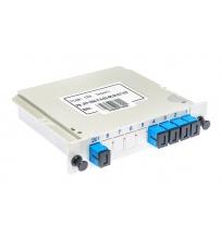 Splitter PLC 1x2 SC/UPC Modular