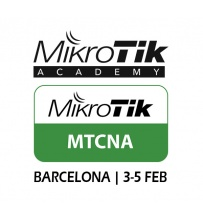 MTCNA - Certificacion Oficial MikroTik - Barcelona 3 al 5 de Febrero 2017