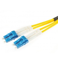 Patchcord de Fibra Óptica LC/UPC-LC/UPC Single Mode Duplex 3mm 10m